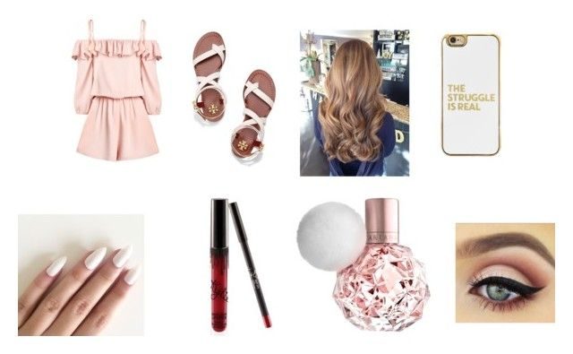 """""""Untitled #107"""" by love02-k ❤ liked on Polyvore featuring Tory Burch and BaubleBar"""