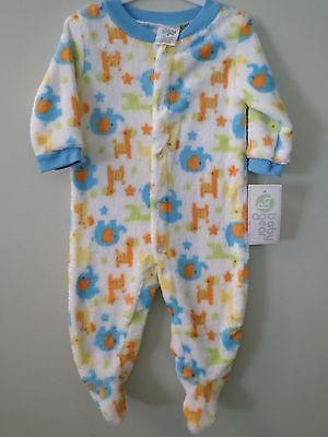82417790fe Baby Boys Clothes Sleeper One-Piece 0-3 Months 3-6 Months Baby Gear NWT  Animals