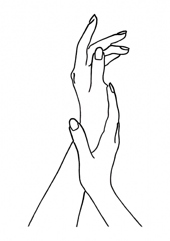 Bw Hands Print Minimalist Woman Print Sketch Art Lips Print Woman Art Line Drawing Print Hands On Line Art Drawings Minimal Drawings Outline Art