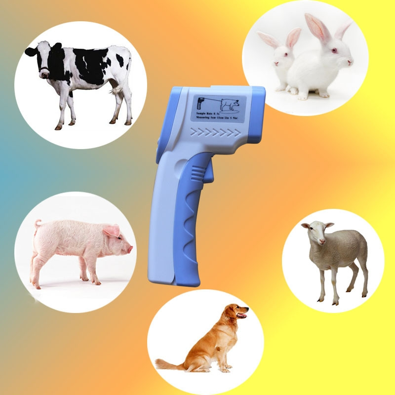 75.00$  Watch here - http://ali7zs.worldwells.pw/go.php?t=32732558467 -  ABOLISS Animal with infrared thermometer temperature gun non-contact veterinari animals cattle sheep horse pig and dog