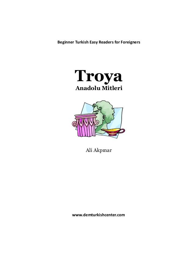 Turkish-easy-reading-books-story-of-troy-for-beginners