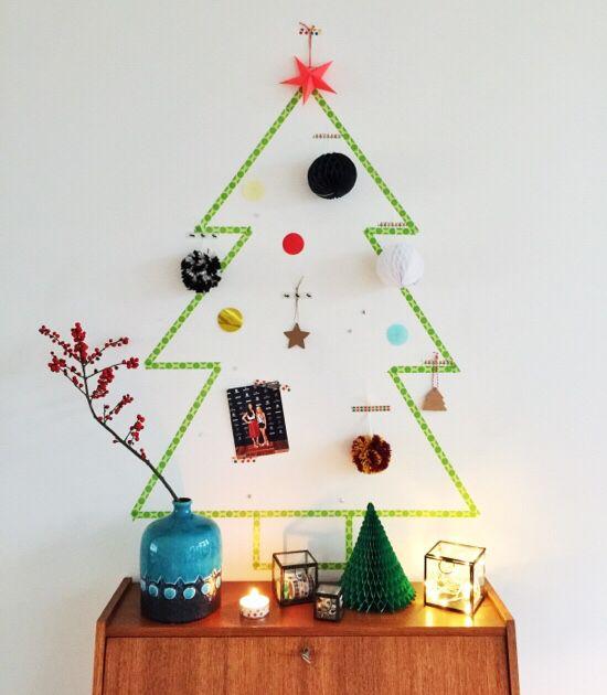 Diy Kerstboom Knutselen One Hand In My Pocket Diy Kerstversiering Versierde Kerstbomen Vakantie Decor