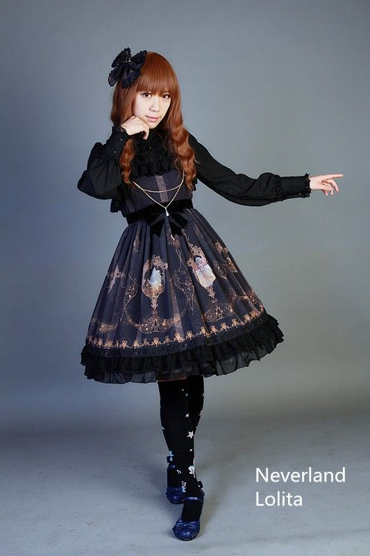 Pre-order: Neverland Lolita ***La Pucelle and Pigeon*** Series >>> http://www.my-lolita-dress.com/neverland-lolita-la-pucelle-and-pigeon-series [Custom Sizing Available]