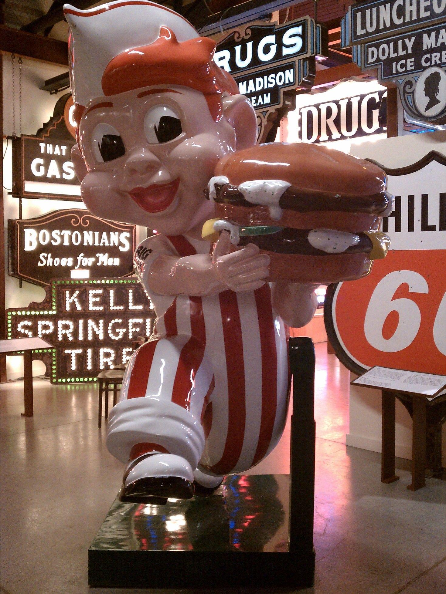 American Sign Museum Big Boy Cincinnati Ohio Cincinnati Roadside Attractions