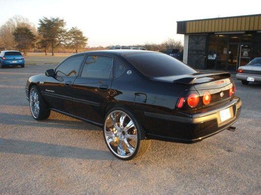 Black Rims Chevy Impala Rims For Cars Hot Rides