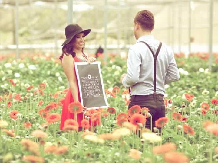 Ideas para una sesión fotográfica casual de novios - bodas.com.mx
