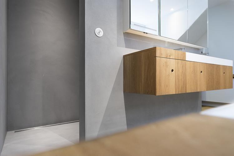Badkamer voorzien van Beton Cire In samenwerking met Beton Cire ...
