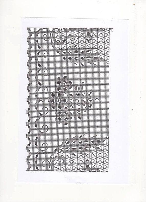 Crochet Lace Pattern for Church Linen Church Crochet Church | Cosas ...