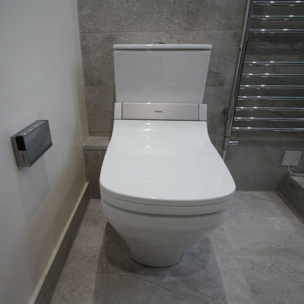Duravit sensowash wc with heated seat