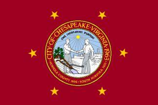 Flag of Chesapeake, Virginia
