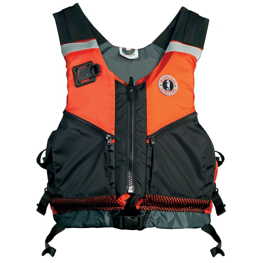 Mustang Shore Based Water Rescue Vest XL/XXL Orange