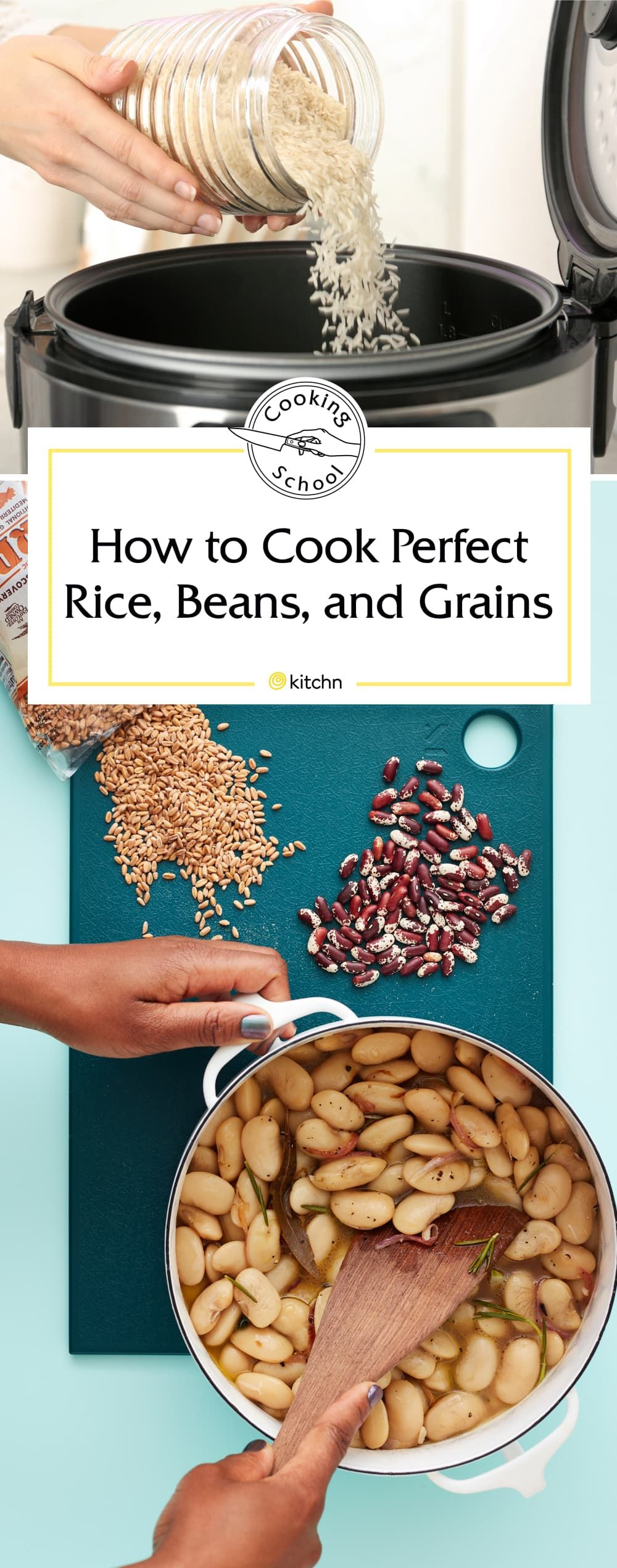 The Best Way To Cook Rice How To Cook Dried Beans Cooking Dried Beans How To Cook Beans Cooking