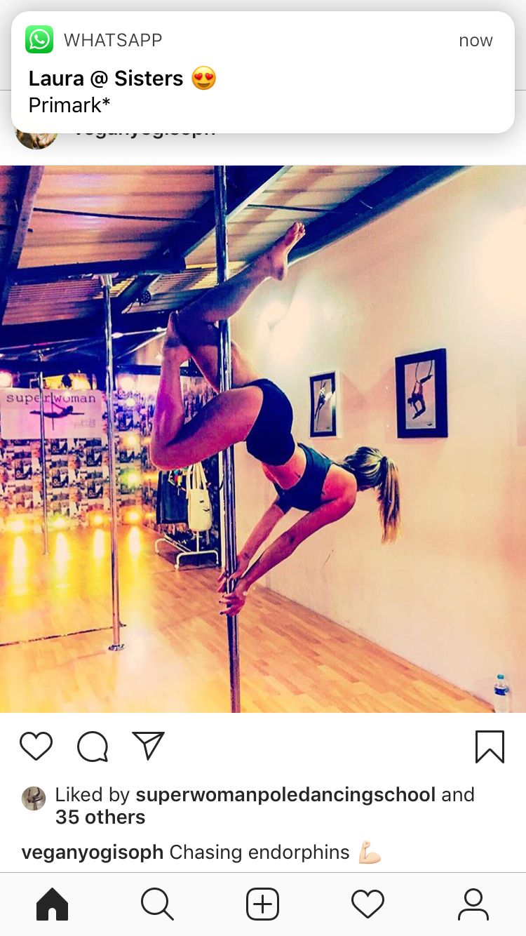 Delfin Push Up Pierna Flexionada Pole Dancing Fitness Pole Dancing Pole Moves