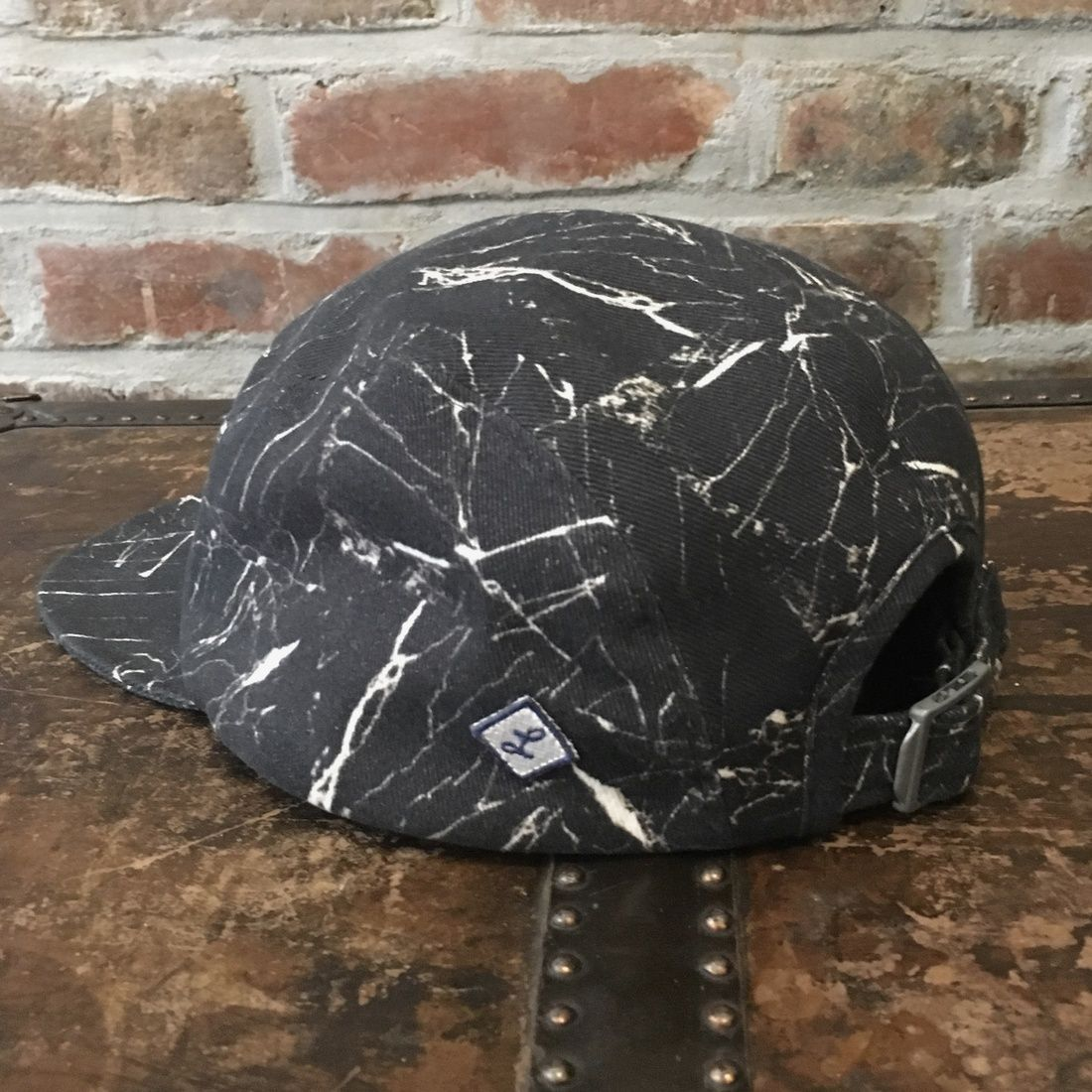 0c06dcf9d02 Larose Paris Larose Paris 5 Panel Black Marble Cotton Twill Cap Hat Size  One Size  43 - Grailed