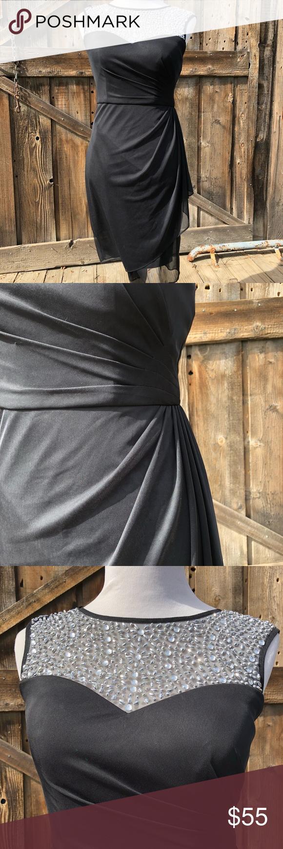 Nwt patra ltd black sequin dress nwt my posh closet pinterest