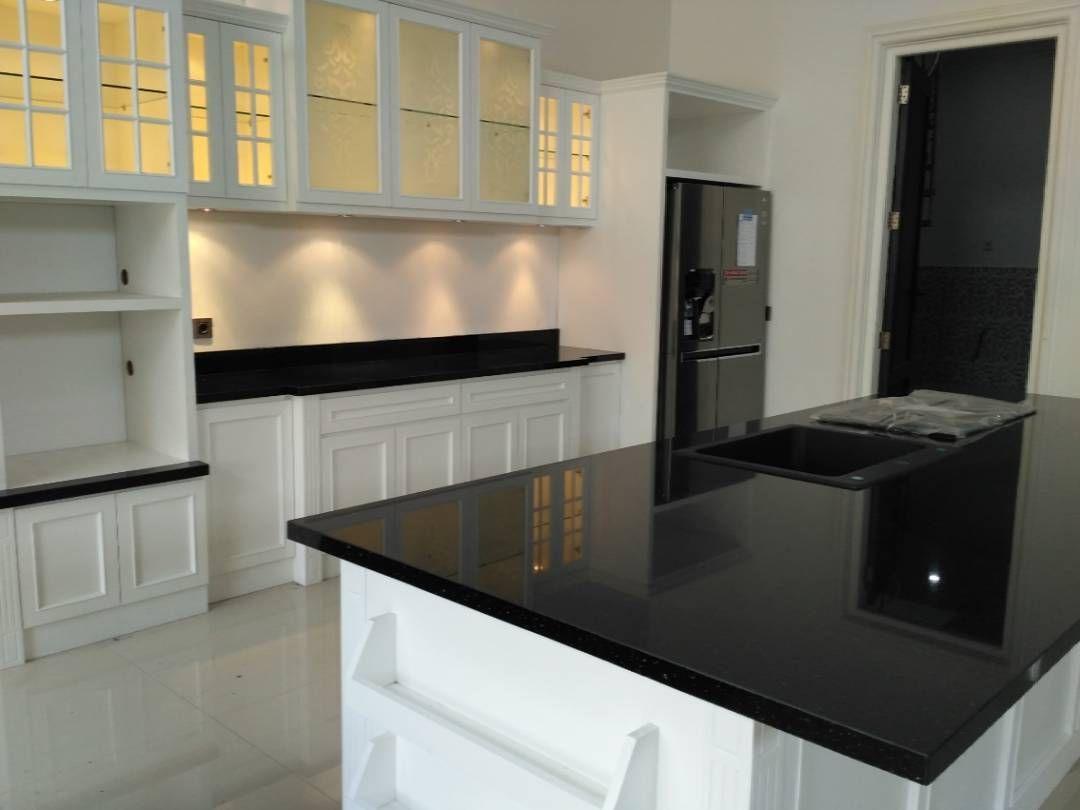 Kitchen set semi classic finally done wa 0811258979 kitchensetcustom kitchenset furnituresemarang