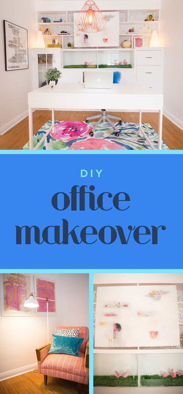 DIY Inspiration For Transforming The Business Room Of Your Home Into A  Professional, Chic Workplace.