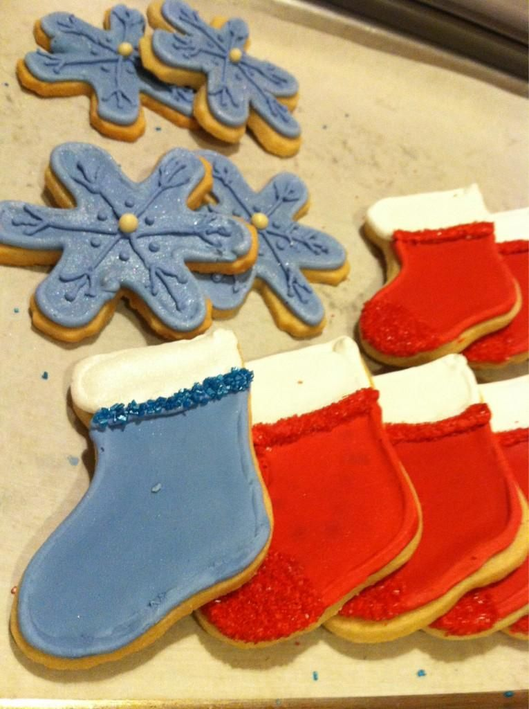 Custom frosted sugar cookies! Coming to the website soon!