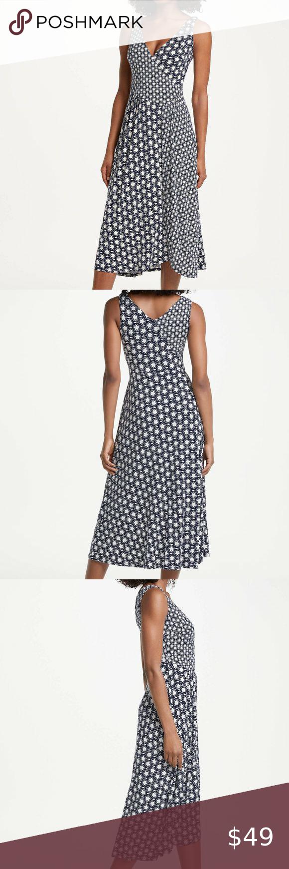 Boden Floral Jennifer Jersey Midi Dress 10r Clothes Design Midi Dress Dresses [ 1740 x 580 Pixel ]