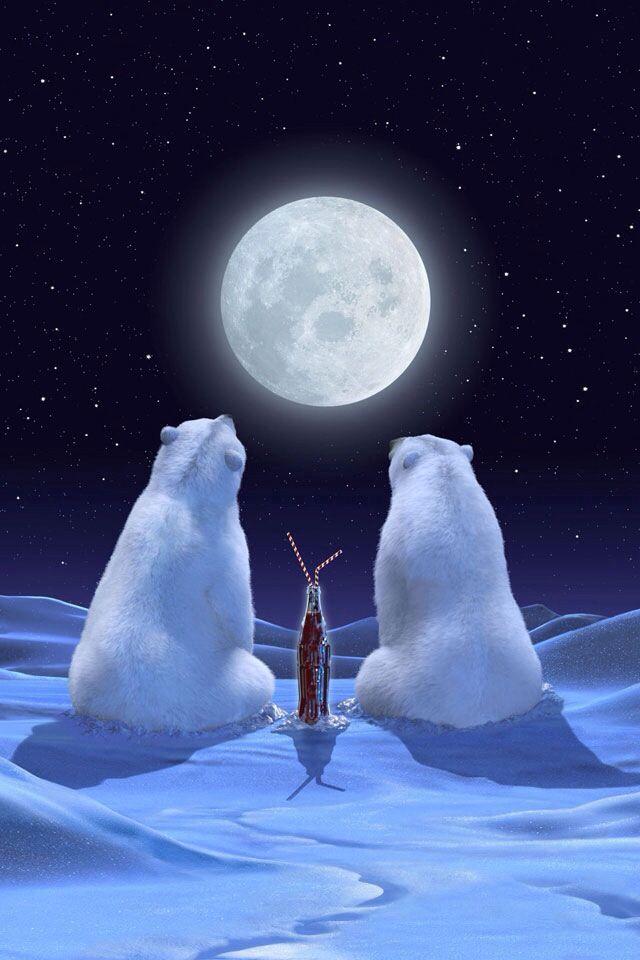 coca cola santa coca cola polar bear coca cola christmas