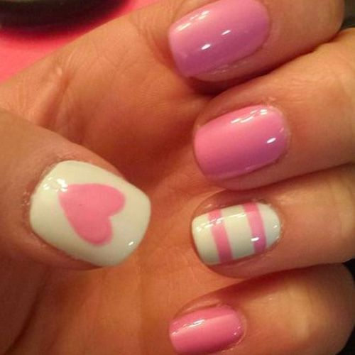 12 Valentines Nail Designs For Heavy Romance Nail Designs