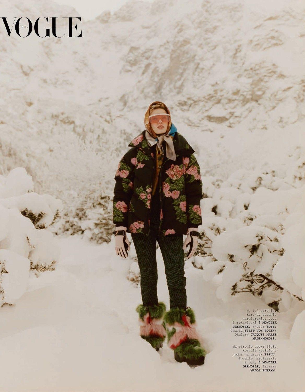 Natalia Siodmiak By Bartek Wieczorek For Vogue Poland February 2019 Magazine Photography Fashion Photography Editorial Photography