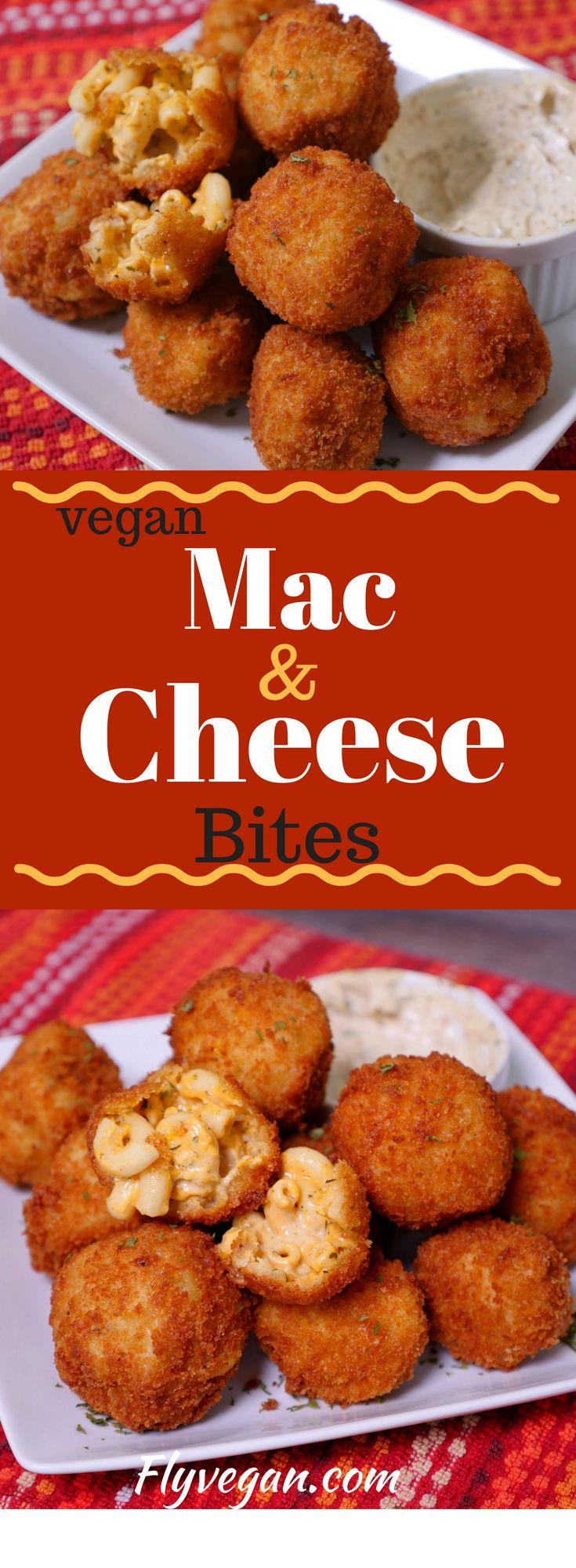 Vegan Comfort Food Mac Cheese Bites Southern Soul Food