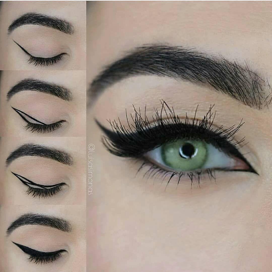 "Photo of Ana auf Instagram: ""Wow Yay oder nein? …. – @luisa_simona. @hudabeauty Samantha peitscht @eyeko Eyeliner – #regrann. . . . . . #makeup # makeupartist… """