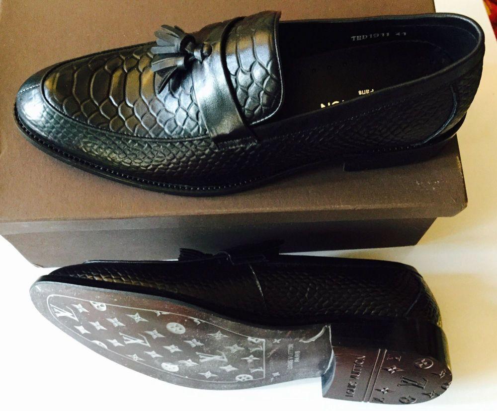 the latest 7b532 2f1f0 Luxus Herren Schuhe LOUIS VUITTON Halbschuhe - Moccasin ...