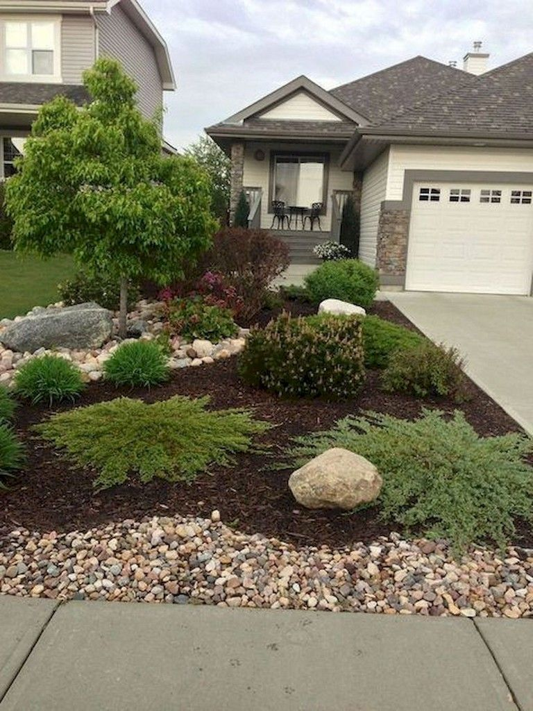 62 Lovely And Fresh Front Yard Landscaping Ideas Front Yard Landscaping Design Small Front Yard Landscaping Home Landscaping
