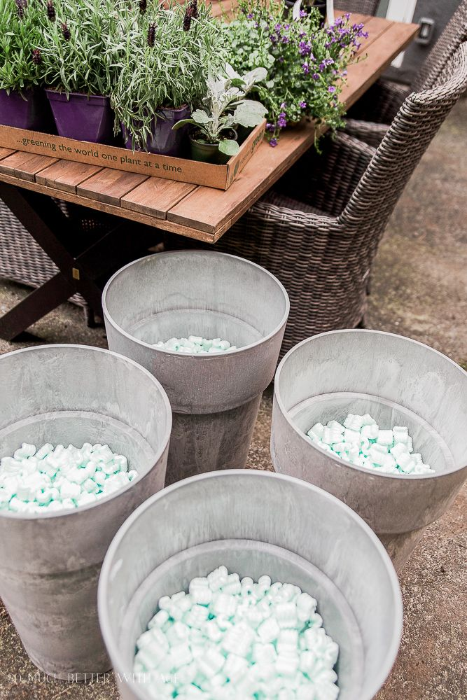 Extra Large Outdoor Planters Part - 47: The Best Tip For Filling Large Outdoor Planters