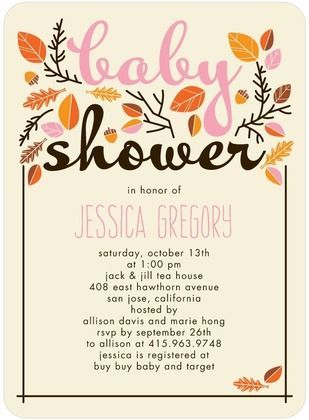 Love this a sweet autumn baby shower invitation perfect for your love this a sweet autumn baby shower invitation perfect for your fall arrival filmwisefo Image collections