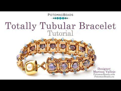 Photo of Totally Tubular Bracelet – DIY Jewelry Making Tutorial by PotomacBeads