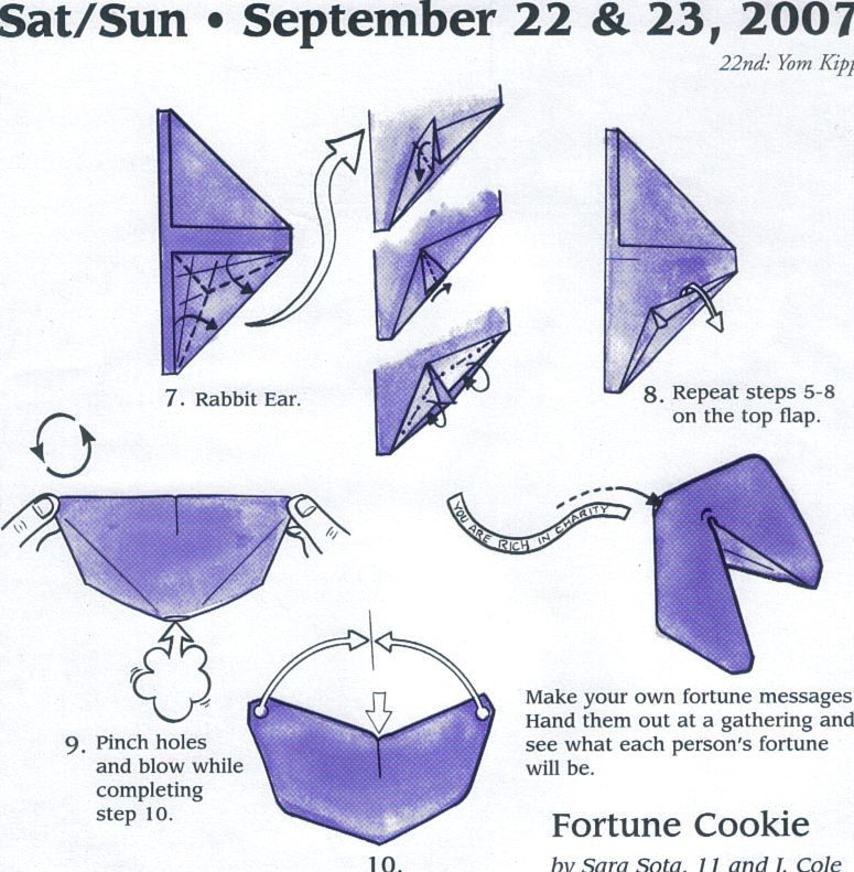 Origami Instructions Printable