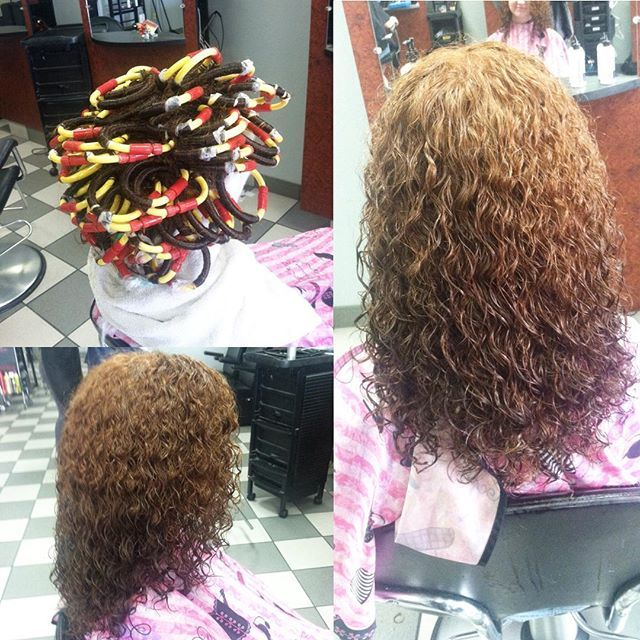 Spiral Perm On Loop Rods