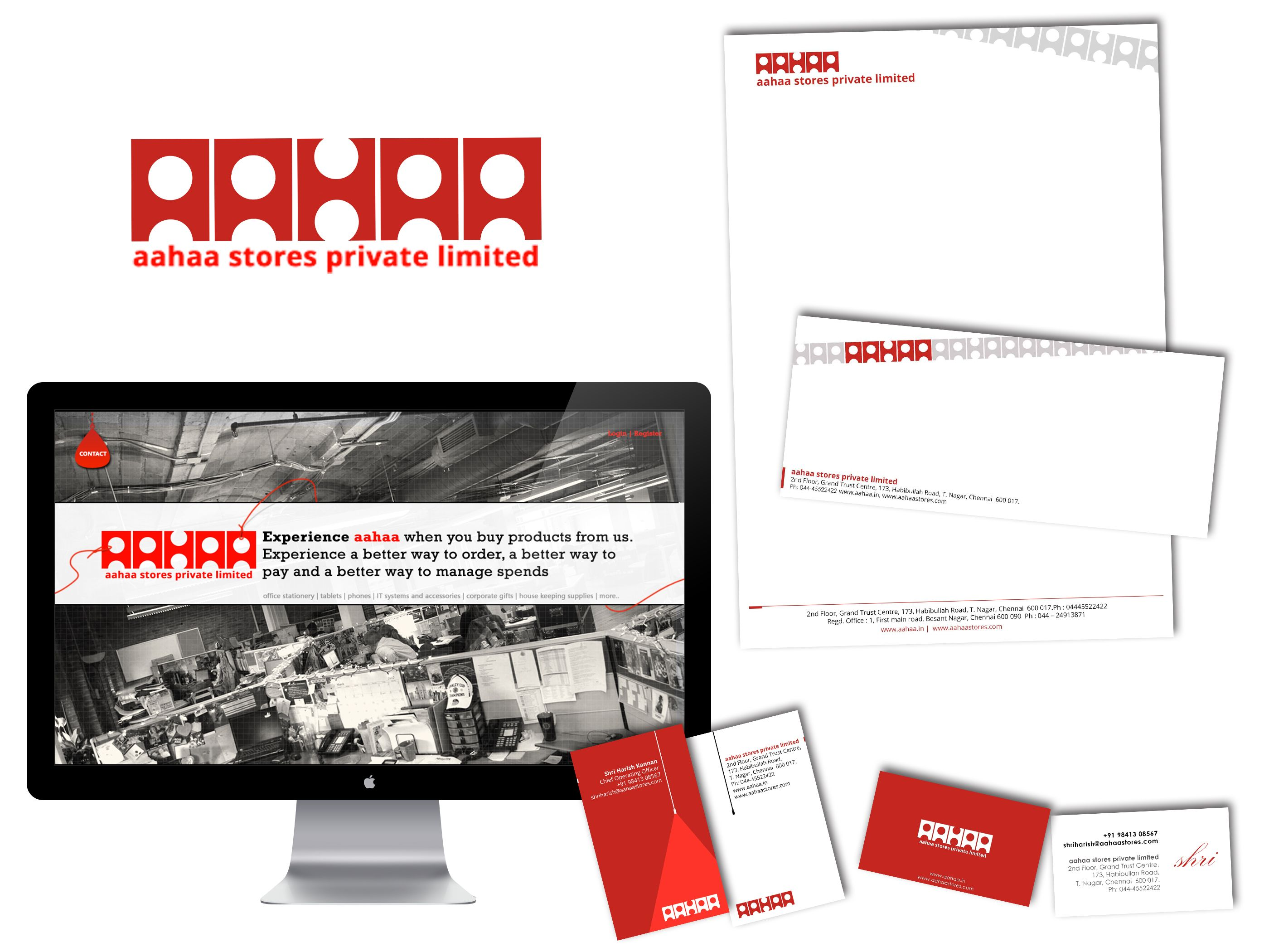 Webdefy is glad to present the Branding portfolio for Aahaa