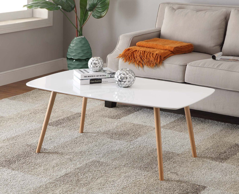 86 Amazon Com Convenience Concepts Oslo Coffee Table White
