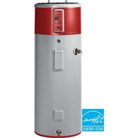 Ge Geospring 50 Gallon 10 Year Hybrid Heat Pump Water Heater Energy Star Hybrid Water Heaters Electric Water Heater Heat Pump Water Heater
