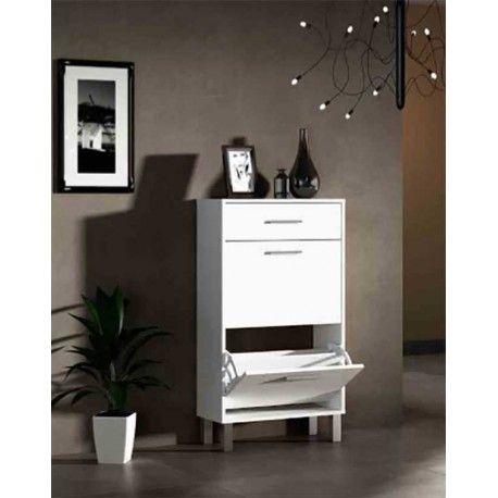Mueble Zapatero en dos colores disponibles blanco y roble c ...