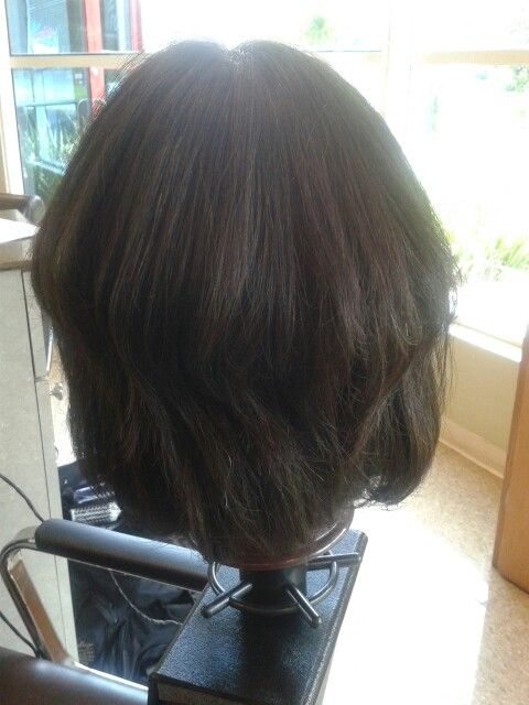 Bob cut with style