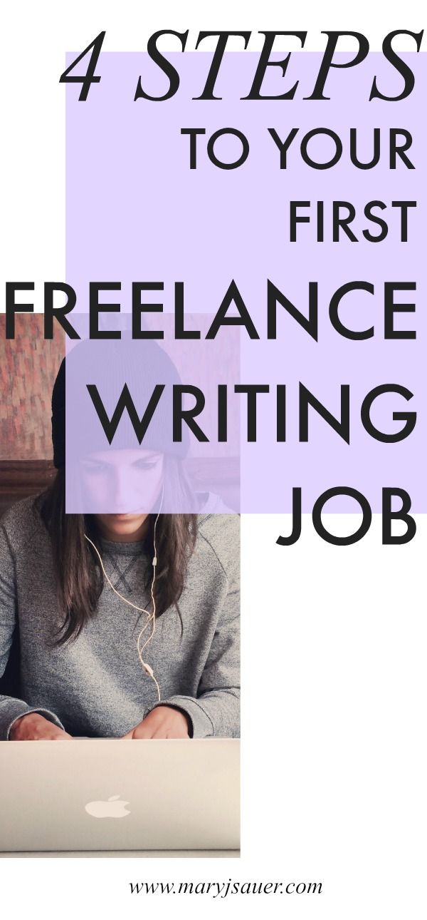 Here are the four steps I took to land my first freelance writing ...