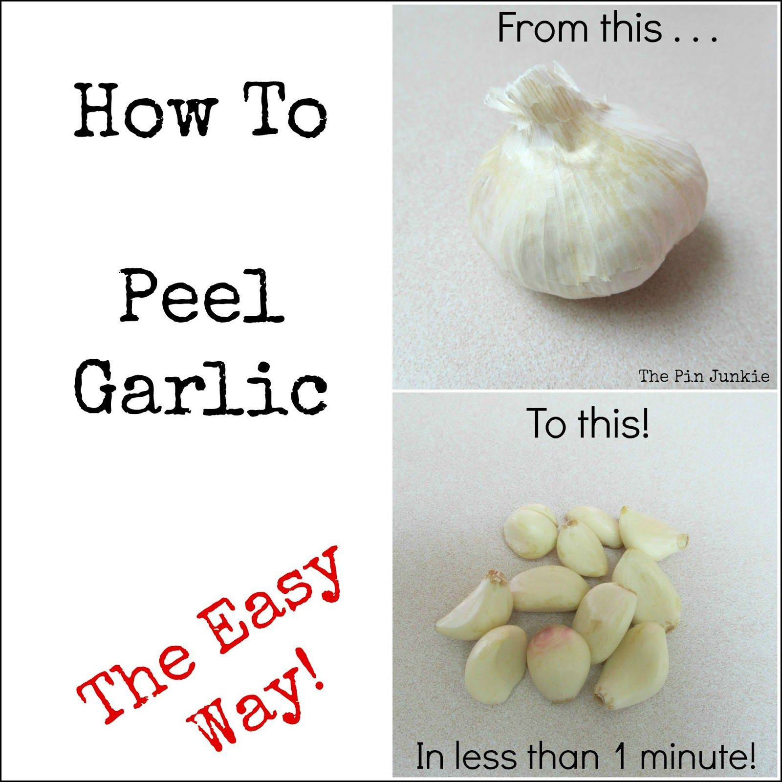 Ways to quickly and clean garlic 48