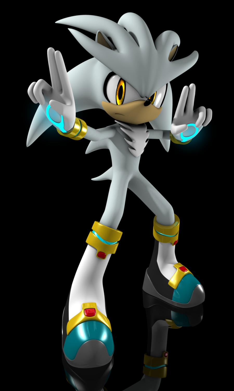 Viewing Gallery For Evil Silver The Hedgehog Silver The Hedgehog Hedgehog Sonic The Hedgehog