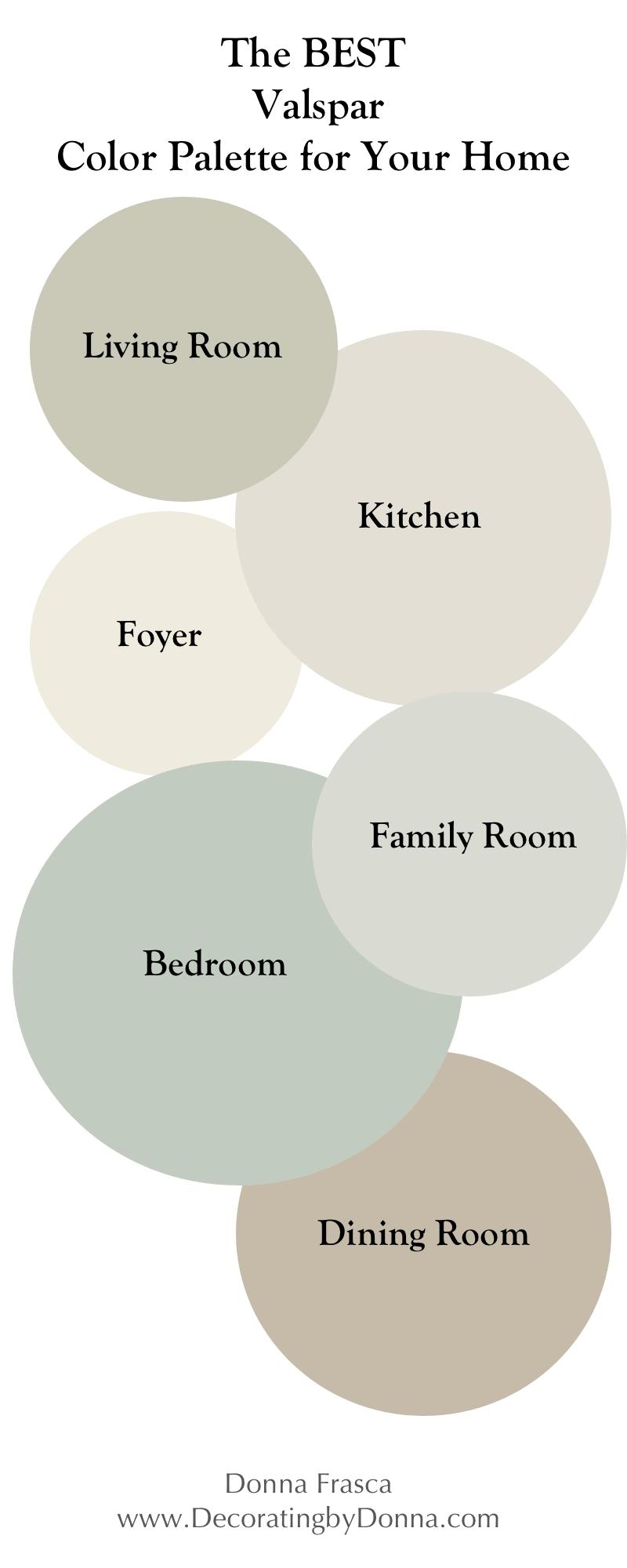 The Best Valspar Color Palette For Your Home Valspar Colors Paint Colors For Home Colorful Interiors