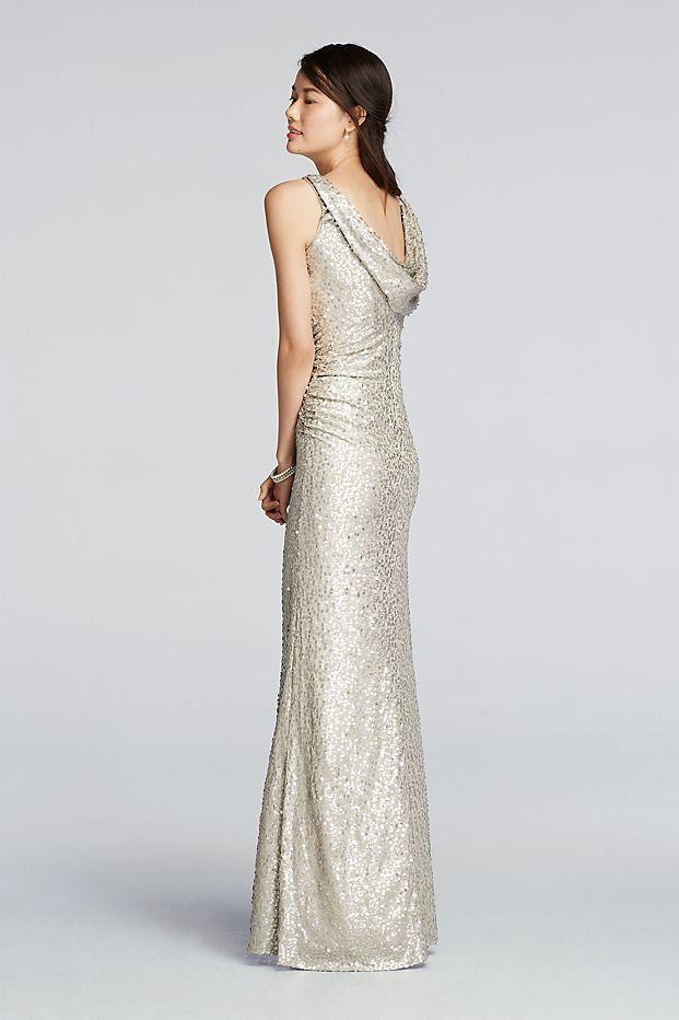 Großartig Silver Glitter Brautjunferkleider Zeitgenössisch ...