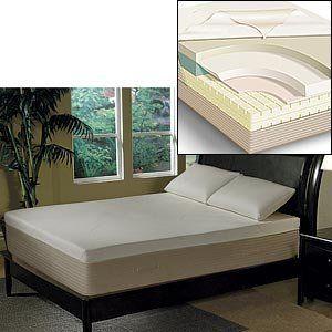 Ara 13 Queen Memory Foam Mattress 100 Visco Foam 1871 99 Furniture Bedroom Furniture Home Kitchens