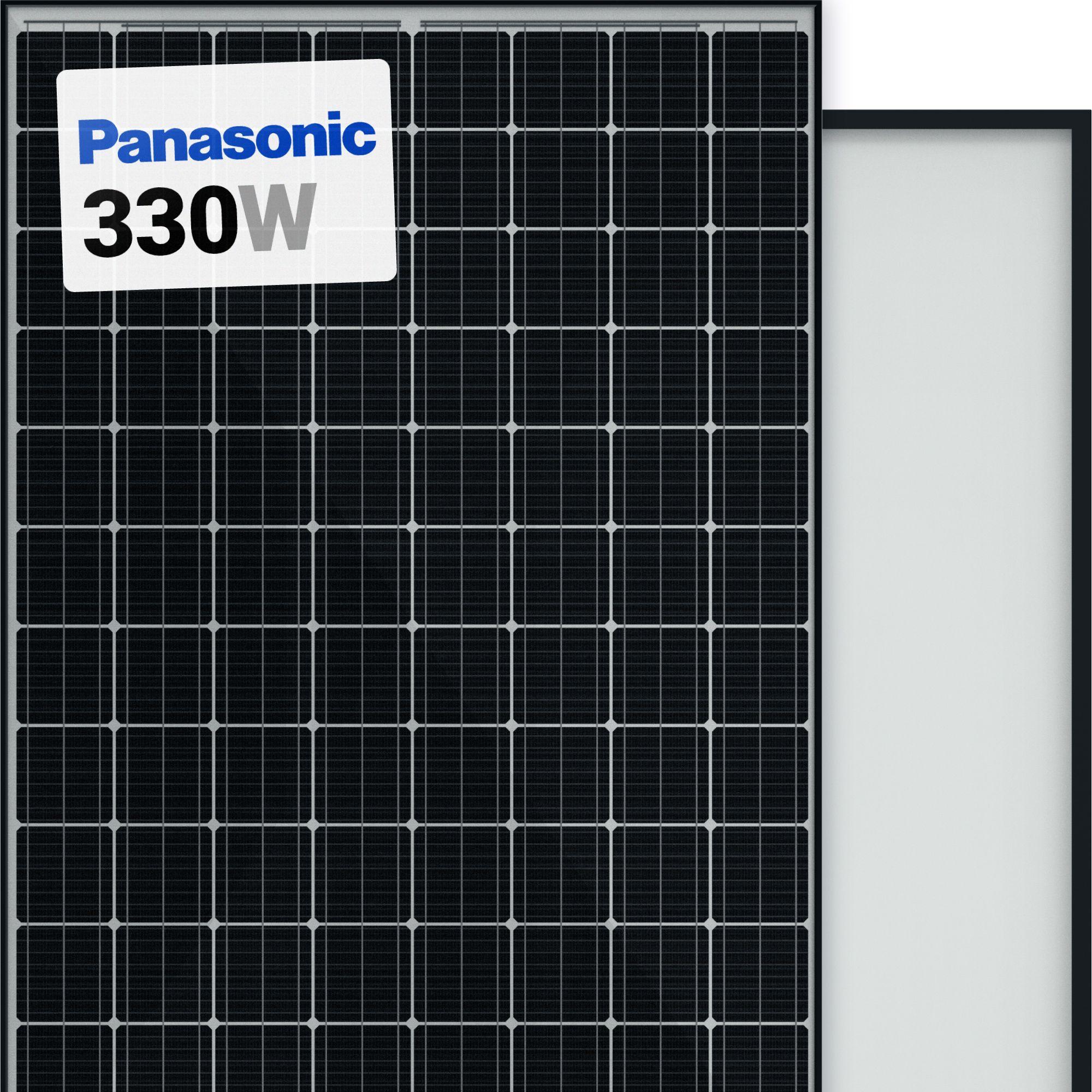 Panasonic Hit 330w Solar Panel 96 Cell Vbhn330sa17 Monocrystalline Black A1 Solar Store In 2020 Solar Panels Solar Panels For Home Water Drainage System