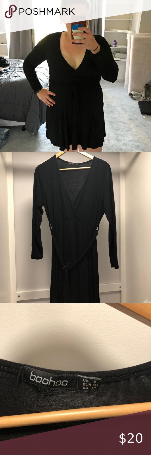 Boohoo Little Black Dress Boohoo Dresses Black Dress Little Black Dress [ 1740 x 580 Pixel ]