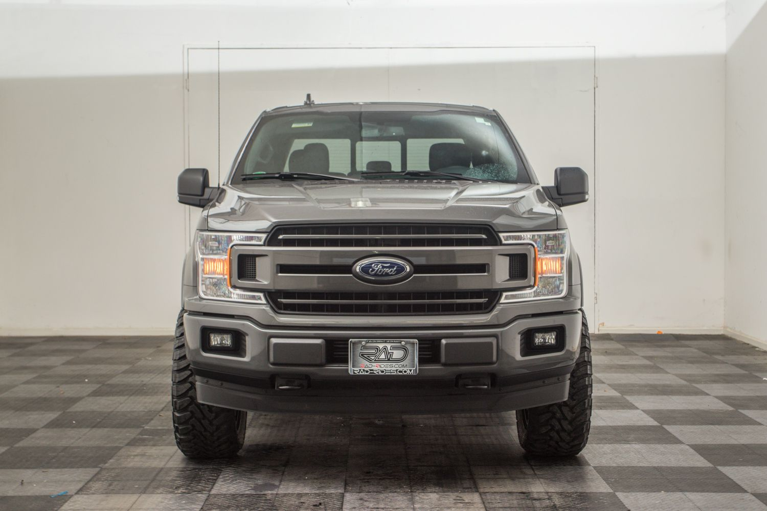2019 Ford F150 Lead Foot Gray With Lift Level Kit Installed By Rad