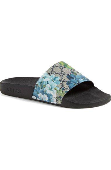 724231dfe29 GUCCI  Pursuit  72 Slide  Sandal.  gucci  shoes  sandals